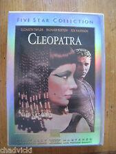 Cleopatra (Five Star DVD, Elizabeth Taylor, Richard Burton, Rex Harrison)