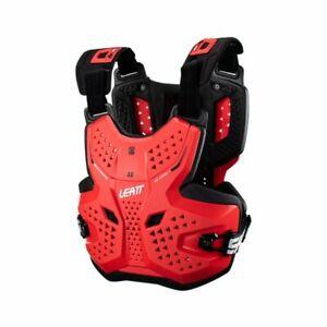 Leatt Mens Adult Chest Protector 3.5 Red Off-Road/MX/ATV/Motocross 5022131120