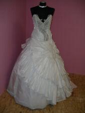 Brautkleid Gr.38 zum basteln Schleppenkleid Prinzessin Nr.9