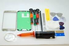 SAMSUNG S6 BORDO ORO schermo in vetro Set di riparazione, colla, cacciaviti, strumenti di qualità