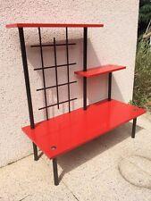 Joli petit meuble étagère table  d'appoint   des années 50 60  vintage