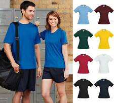 Polyester Basic Tees Machine Washable T-Shirts for Women