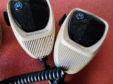 Lot of 2 - MOTOROLA Two Way Radio Mics Microphones  HMN1090A - 1090B - APX4500 A