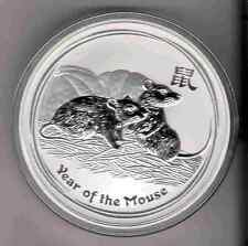 2008 Mouse AUSTRALIAN LUNAR YEAR OF Mouse 1 oz. SILVER COIN YEAR OF Rat maus