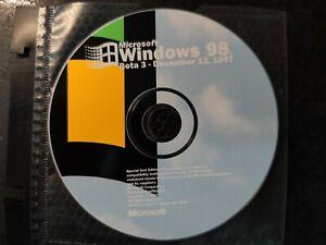 Microsoft Windows 98 Codename Memphis Beta 3 - December 12, 1997 Rare
