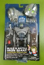Vintage 1999 Trendmasters The Iron Giant Build & Battle Figure Toy NEW SEALED
