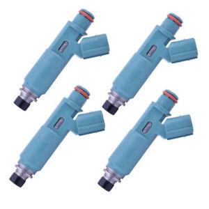 4* Denso fuel injector 23250-28020 for 01-04 Toyota Camry Highlander 2.4 2AZFE