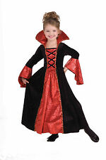 Girls Deluxe Vampire Princess Costume Gothic Victorian Dress Size Large 12-14