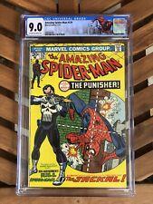 Amazing Spider-Man #129 CGC 9.0 Marvel Comics 1974 1st Appearance Punisher