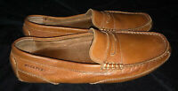 ROCKPORT Brown Penny Loafers Shoes MENS SIZE 10 M EUC