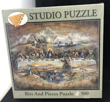"Puzzle 500 Piece, Studio Puzzle, 16"" x 20"" new sealed, ""The Last Supper"""