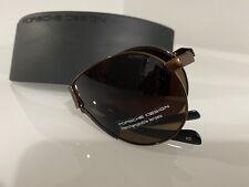 Porsche Folding Sunglasses P8480 With Case And Cloth
