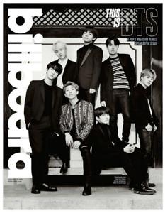 BTS Bangtan Boys Group Cover BILLBOARD MAGAZINE - FEBRUARY 17, 2018 Good RARE