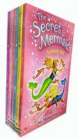 Secret Mermaid Seahorse SOS Sue Mongredien  Collection 6 Books Set (7-12) NEW