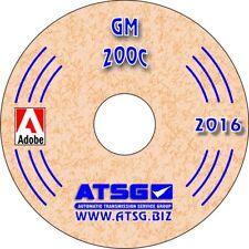 GM 200C ATSG Transmission Rebuild Manual THM 200-C Service Overhaul Book TH200