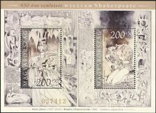 Hungary 2014 Shakespeare/Author/Writing/Theatre/Drama/Plays/Actors 2v m/s n45154