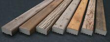 Wandverkleidung Holzoptik I Kantholz 9x5 I Holzbalken aus Styropor I Wandpaneel