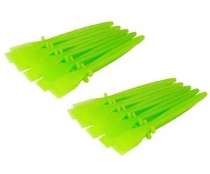 20 x Green Plastic PVA Glue Spreaders Craft Adhesive Paste S7629