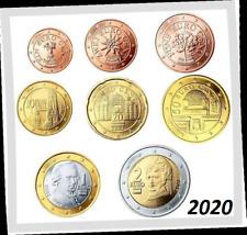 OOSTENRIJK 2020  ***  AUTRICHE 2020 *** serie 8 pcs UNC  !!!