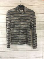 Missoni Sport Women's Multicolor Turtleneck Made In Italy • SMALL MED • READ