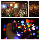 Fairy String Lights 100 LED Christmas Xmas Party Decor Lamps Plug Outdoor Indoor