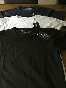 JACK & JONES  Basic crew and V neck T shirt with stretch