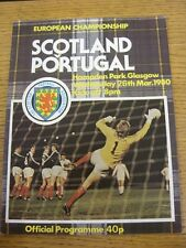 26/03/1980 Scotland v Portugal [At Hampden Park] . Thanks for taking the time to