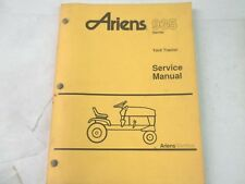 Ariens 935 series yard tractor service manual