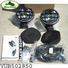 LAND ROVER BUMPER FOG DRIVING LAMP LIGHTS KIT LR3 DISCOVERY VUB502850 OEM