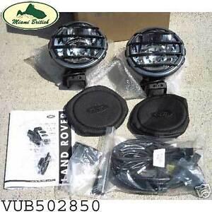 LAND ROVER BUMPER FOG DRIVING LAMP LIGHTS KIT LR3 DISCOVERY VUB502850 OEM