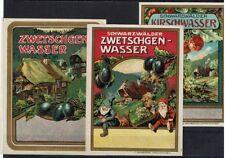 3 OLD GERMAN WINE LABELS - VERY BEAUTIFUL - POSTAGE FREE