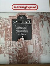 Speculate (Waddingtons) 1970 Board Game, Supplied by Gaming Squad