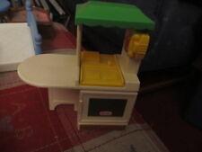 Little Tikes doll house Kitchen kitchenette phone sink stove