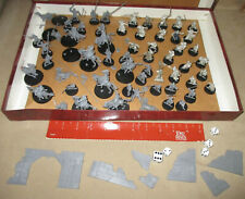 50+ Lord of The Rings Games Workshop Plastic and Metal Figure Lot - Battle Game