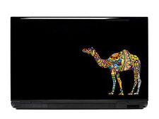 Ornate Camel Vinyl Laptop or Automotive Art sticker decal computer auto hump day