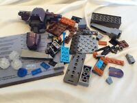 Lot Reap-X Mega Bloks Assorted Incomplete UNSC Siege Set Figures Rods Bricks