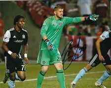MATT LAMPSON signed *CHICAGO FIRE* autographed SOCCER 8X10 photo W/COA #2