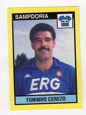 figurina IL GRANDE CALCIO VALLARDI 1988/89 NUMERO 263 SAMPDORIA CEREZO