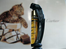 Cartier Panthere De Cartier vintage parfum de toilette vial.. Muy Rara!