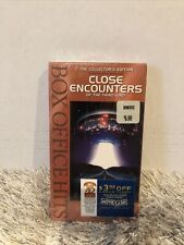 Close Encounters of the Third Kind Collector's Edition Vhs 1999 New Factory Seal