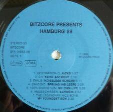 V/A LP Hamburg `88 (1988) Punk Vinyl Schallplatte OHNE COVER