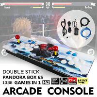 Pandora Box 6s 1388 in 1 Retro Video Games Double Stick Arcade Console