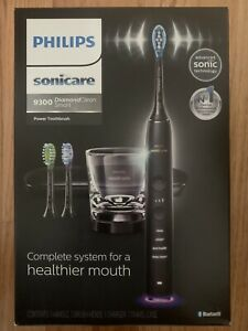 Philips Sonicare 9300 Diamond Clean Smart Power Toothbrush System In Black, New