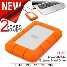 """Lacie Rugged Mini 4TB USB 3.0 2.5"""" External Portable Hard Drive│PC/ Mac│Storage"""