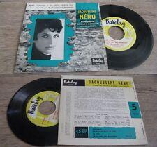 JACQUELINE NERO - Le Mur Rare French EP Pop Rive Gauche Barclay