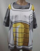 Character T-SHIRT COOLMAX SIZE 4XL Gray, Yellow and White short sleeve