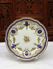 SEVRES 1758 CABINET WALL FLOWER PLATE MUSEUM QUALITY NO CHIPS