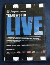 RARE Seagate Presents 2001 Transworld Live Snowboarding DVD A Clurman K Miller