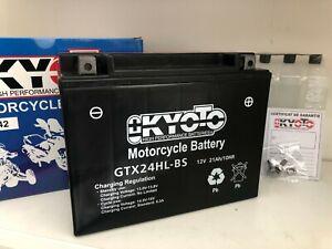 Batteria Kyoto GTX24HL-BS YTX24HL-BS HONDA GL1000, LTD, K, Gold Wing 1000 -1979
