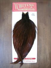 Fly Tying Whiting Pro Rooster Cape Coachman Brown #A